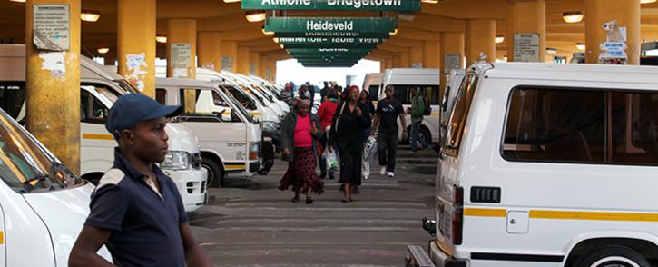 FILE. Cape Town CBD taxi rank. Picture: Chad Roberts/Primedia