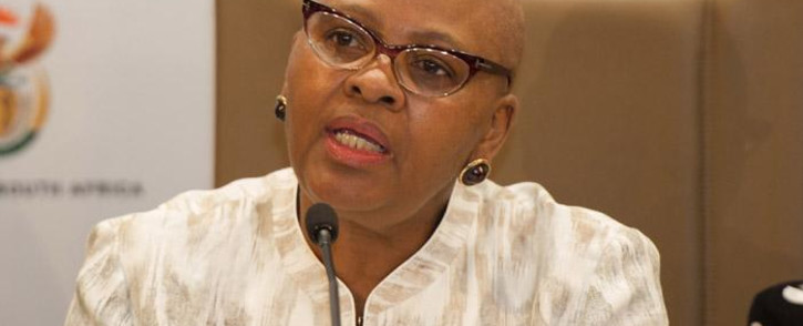 Minister of Defence and Military Veterans Nosiviwe Mapisa-Nqakula. Picture: GCIS