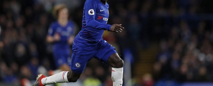 FILE: Chelsea midfielder N'Golo Kante runs with the ball during the English Premier League football match between Chelsea and Newcastle United at Stamford Bridge in London on 12 January 2019. Picture: AFP