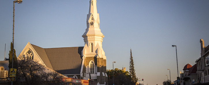 Beaufort West's Neo-Gothic Dutch Reformed Mother Church, built in 1892, is a landmark on the N1, which passes through the town centre. Picture: Aletta Harrison/EWN.