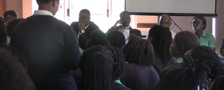 FILE: Pupils at Pretoria High School for Girls. Picture: Kgothatso Mogale/EWN.