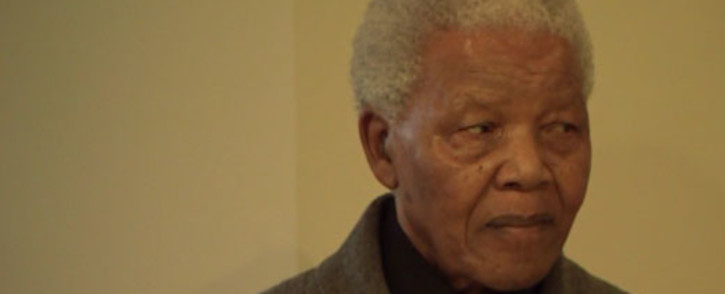 A screengrab of former president Nelson Mandela. Picture: CNN.