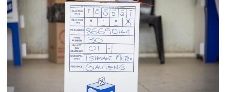 FILE: IEC ballot box. Picture: Boikutsho Ntsoko/Eyewitness News.