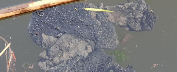 Vaal River pollution. Picture: @SaveTheVaal/Twitter