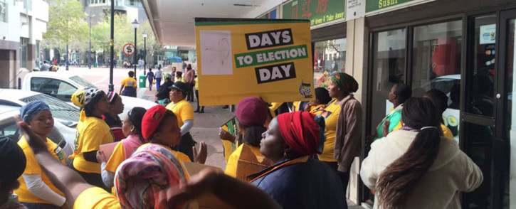 FILE: Disgruntled ANC members from Kanana, Europe and Barcelona in Gugulethu staged a protest at the party's offices over the selection of candidates for the elections. Picture: Xolani Koyana/EWN