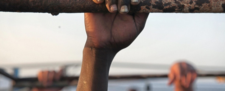 FILE: Reports of African migrants in Libya being sold as slaves have made headlines around the world. Picture: @UNmigration/Twitter