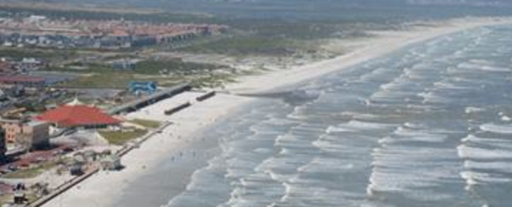 FILE: An aerial view of Muizenberg beach on Cape Town's False Bay coast. Picture: Supplied.