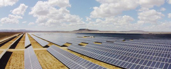 Solar Capital officially launches what it says is the largest solar power farm in Africa. Picture: Siyabonga Sesant/EWN.