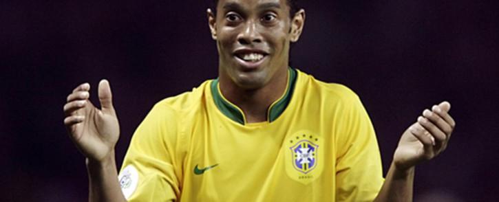 Ronaldinho. Picture: AFP.