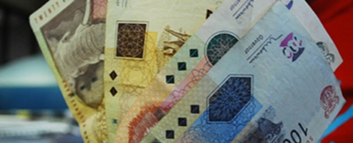 The rand clung onto good news out of China as the world's second-largest economy reported a surprise. Picture: EWN.