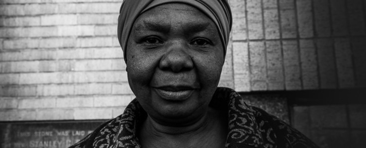 A picture of Veronica, a homeless woman who sleeps outside a Methodist church in Braamfontein, Johannesburg. Picture: Kayleen Morgan/EWN