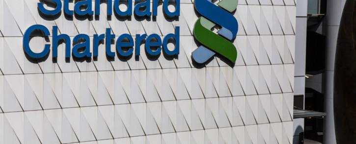 FILE: A Standard Chartered bank in Hong Kong. picture: AFP