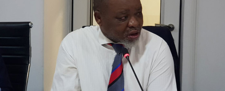 FILE: Mineral Resources and Energy Minister Gwede Mantashe. Picture: @GwedeMantashe1/Twitter