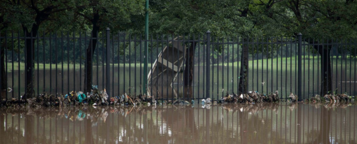 Heavy rain throughout the country caused severe flooding, submerging the Centurion Lake Hotel in Tshwane on 10 December 2029. Picture: Abigail Javier/EWN