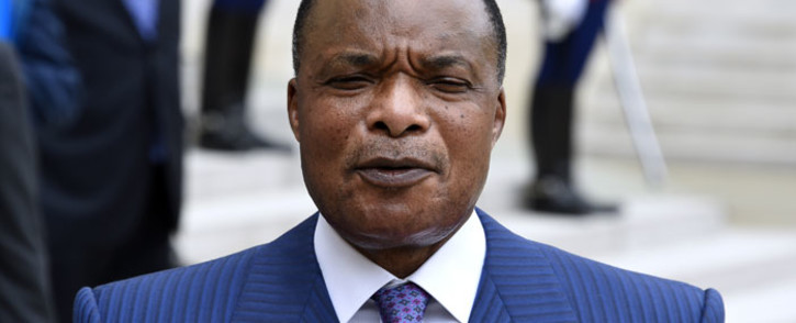 FILE: President Denis Sassou Nguesso of the Republic of Congo. Picture: AFP.