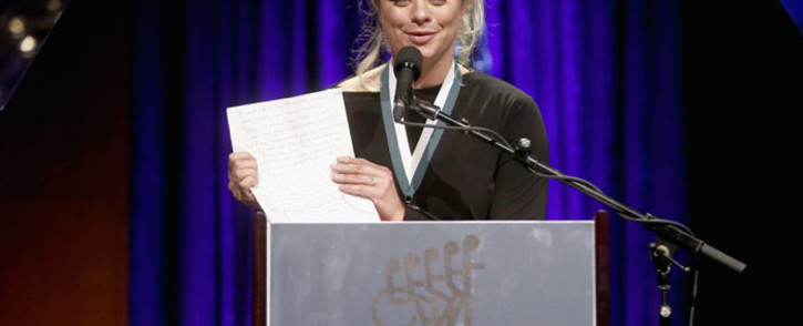 FILE: GSLD Honoree Kim Clijsters speaks onstage at the 32nd Annual Great Sports Legends Dinner To Benefit The Miami Project/Buoniconti Fund To Cure Paralysis at New York Hilton Midtown on 25 September 2017 in New York City. Picture: AFP