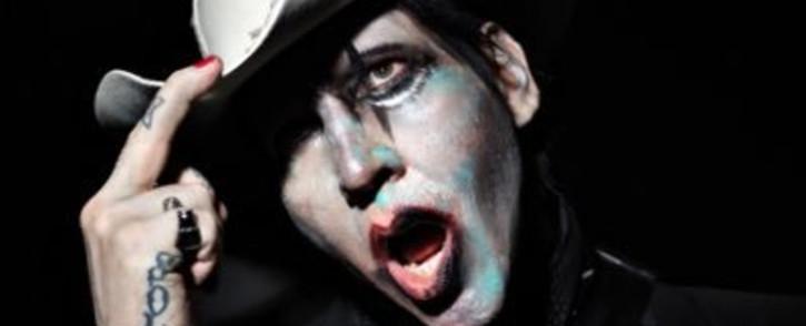 US goth rocker Marilyn Manson. Picture: Twitter/@marilynmanson