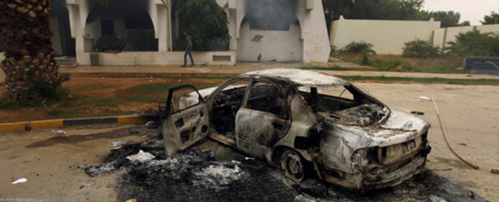 FILE: Officials say it was unclear what caused the explosion, which set off a fire. Picture: AFP.