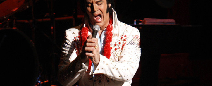FILE: Kjell Henning Bjornestad of Majorstuen, Fredrikstad, Norway performs on stage in The Ultimate Elvis Tribute Artist Contest, 17 August 2007 in Memphis, Tennessee. Picture: AFP
