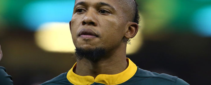 FILE: The Springboks' Elton Jantjies. Picture: AFP