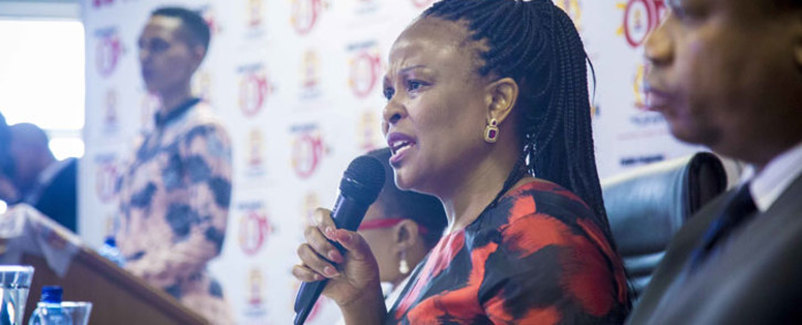 FILE: Public Protector Busisiwe Mkhwebane. Picture: Thomas Holder/EWN