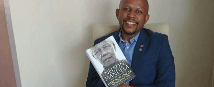 FILE: Nelson Mandela Foundation CEO Sello Hatang, Picture: @sellohatang/Twitter.