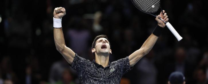 FILE: Novak Djokovic. Picture: @ATPWorldTour/Twitter.