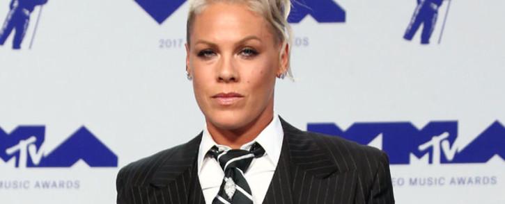 FILE: US singer Pink. Picture: AFP