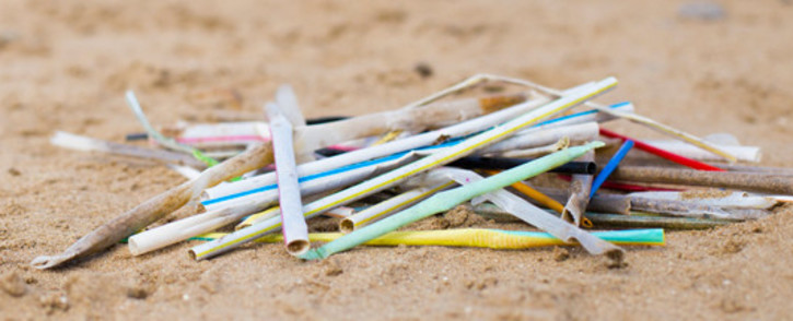 Plastic straw waste. Image: Marine Conservation Society