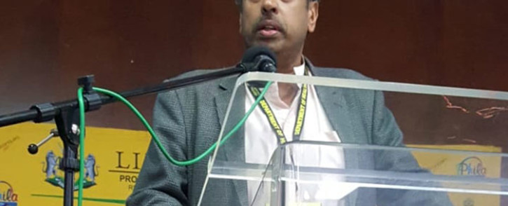 FILE: Dr Anban Pillay, Deputy-Director General [DDG] for the National Department of Health speaks during the 5th Annual Public Health Case Management Conference at the Bolivia Lodge, Polokwane on 31 August 2018. Picture: @LimpopoDepartmentOfHealthBophelong/Facebook