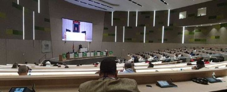 Tshwane council members council reconvened on 30 October 2020 for the first time in eight months following the Supreme Court of Appeal ruling that enforced a High Court decision to reinstate it. Picture: @DAGauteng/Twitter