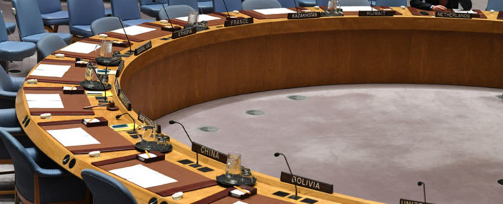 Dutch Foreign Minister Stef Blok waits for the start of a UN Security Council meeting on UN peacekeeping operations at the United Nations in New York on 13 December 2018. Picture: AFP