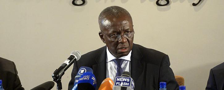 Dikgang Moseneke.picture: AFP/Alexander Joe.