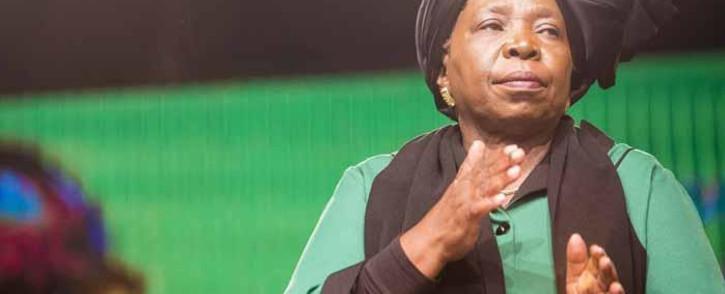 FILE: Nkosazana Dlamini Zuma at the ANC national policy conference at Nasrec on 30 June 2017. Picture: Thomas Holder/EWN.