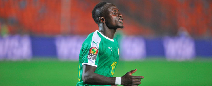 Senegal forward Sadio Mane. Picture: Twitter @CAF_Online.