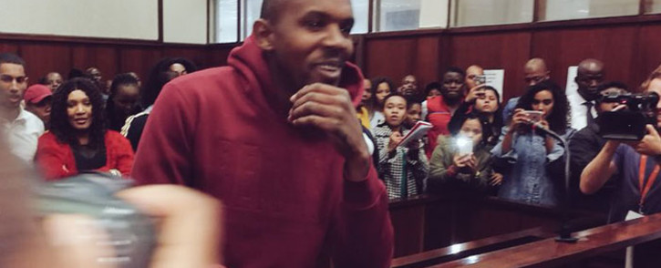 FILE: Murder accused Thabani Mzolo in the Durban Magistrates Court on 3 May 2018. Picture: Ziyanda Ngcobo/EWN