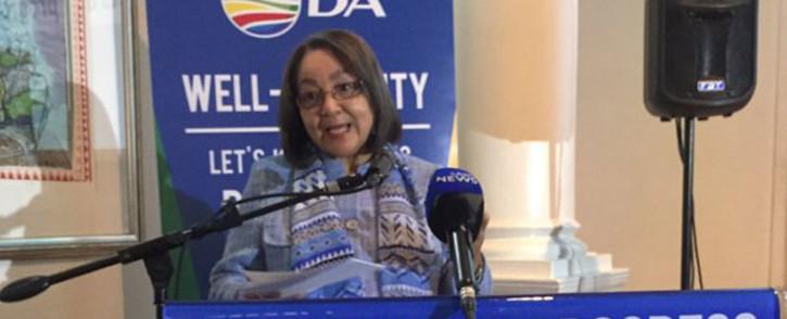 FILE: The DA's Cape Town mayoral candidate Patricia de Lille. Picture: Xolani Koyana/EWN.