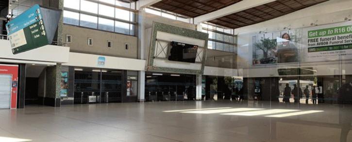 FILE: Cape Town train station. Picture: Kaylynn Palm/EWN.