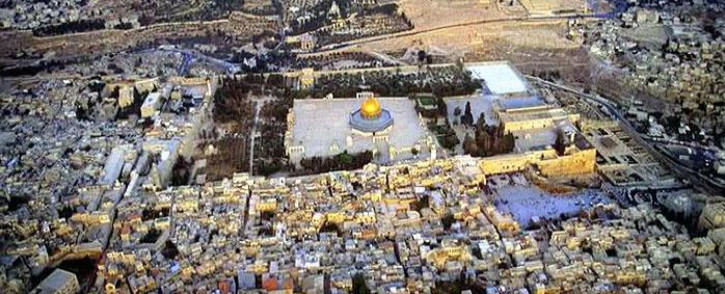 FILE: The City of Jerusalem's religous compound which includes Al-Aqsa Mosque, Dome of the Rock and the Western Wall among others. Picture: I Love Jerusalem Faceboomk page.