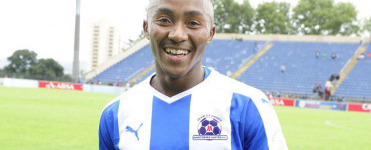 Lebo Maboe during his time with Maritzburg United. Picture: @MaritzburgUTD/Twitter