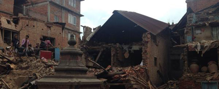 FILE: A South African has described how he narrowly escaped almost certain death in the recent earthquake in Nepal. Picture: Mia Lindeque/EWN