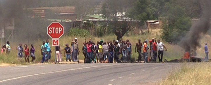FILE: Police have their hands full with two violent protests. Picture: Vumani Mkhize/EWN.