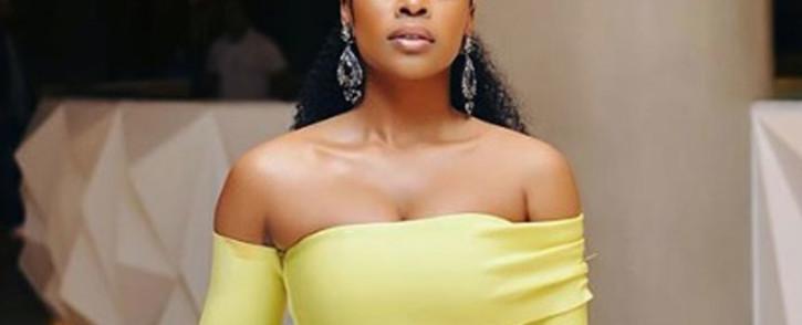 South African actress and UN goodwill ambassador Nomzamo Mbatha. Picture: nomzamo_m/instagram.com