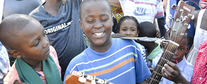 Langa Open Streets hosted some local talent in Cape Town's oldest township. Picture: Anthony Molyneaux/EWN