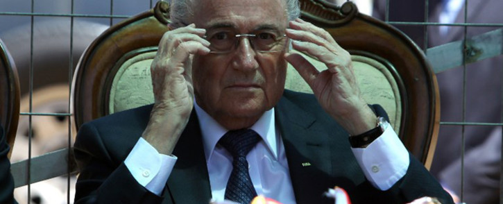 FILE: Former Fifa boss Sepp Blatter. Picture: AFP.