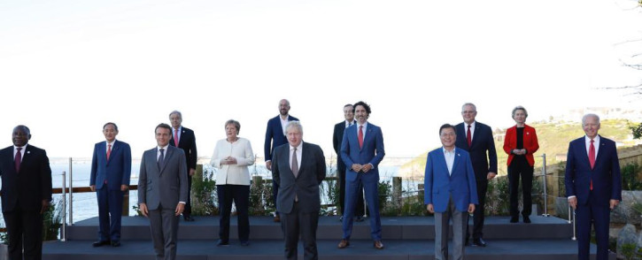 The group of leading economies (G7), held their first in-person gathering in nearly two years due to the coronavirus pandemic. Picture: Twitter/@eucopresident