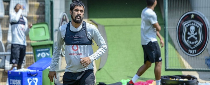Abbubaker Mobara will miss Orlando Pirates clash with Chippa United with injury. Picture: Twitter/@orlandopirates