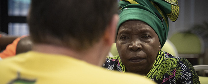 Cooperative Governance and Traditional Affairs Minister Nkosazana Dlamini-Zuma. Picture: Sethembiso Zulu/EWN.