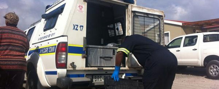 Three of Godlo's relatives appeared in the Wynberg Magistrates Court on 15 October 2014. Picture: Carmel Loggenberg/EWN