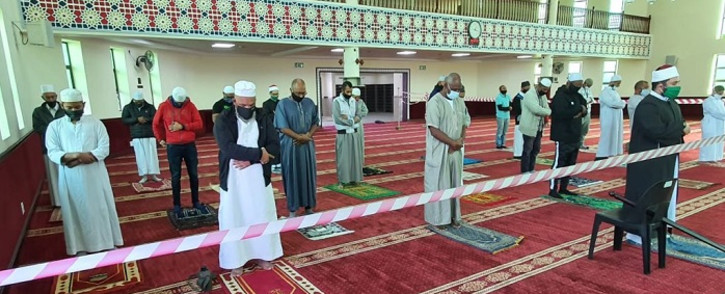 The Al-Khair Mosque in Mitchells Plain has reopened under strict conditions. Picture: Supplied